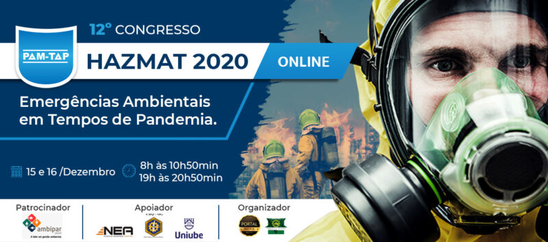 12° Congresso HAZMAT 2020 Online PAM-TAP Com Certificado Digital