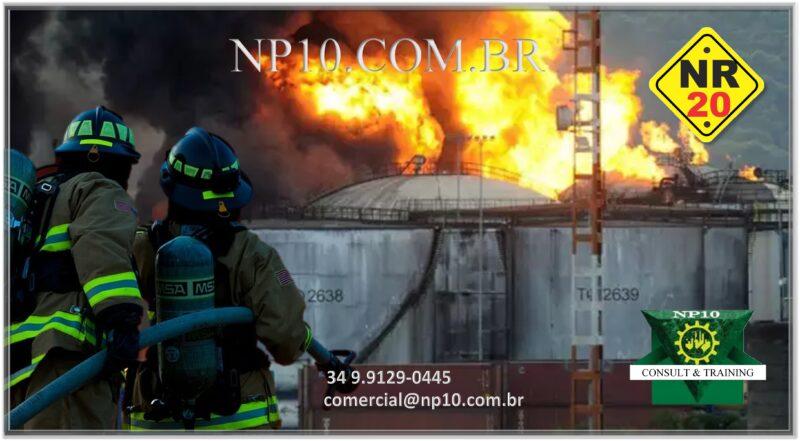 Curso NR -20 INFLAMÁVEIS E COMBUSTÍVEIS (BÁSICO) – Online